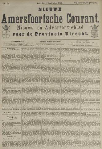 Nieuwe Amersfoortsche Courant 1896-09-12