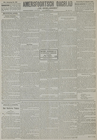 Amersfoortsch Dagblad / De Eemlander 1922-02-09