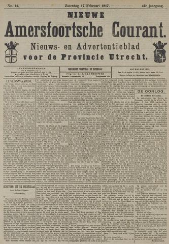 Nieuwe Amersfoortsche Courant 1917-02-17
