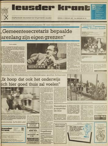 Leusder Krant 1987-02-10