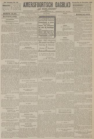 Amersfoortsch Dagblad / De Eemlander 1925-12-24