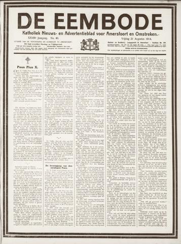 De Eembode 1914-08-21