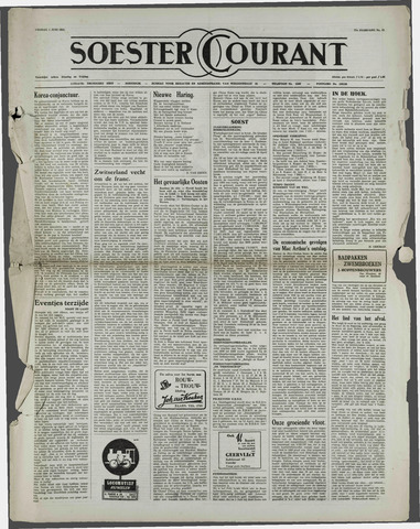 Soester Courant 1951-06-01