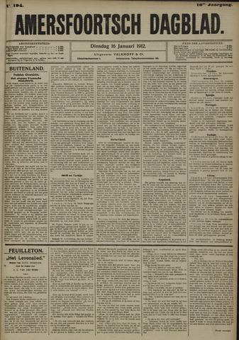 Amersfoortsch Dagblad 1912-01-16