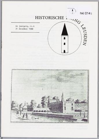 Historische Kring Leusden 1988-12-31