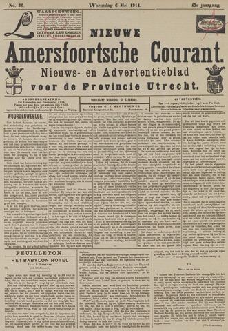 Nieuwe Amersfoortsche Courant 1914-05-06