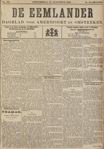 De Eemlander 1908-08-27