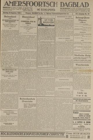 Amersfoortsch Dagblad / De Eemlander 1933-08-26