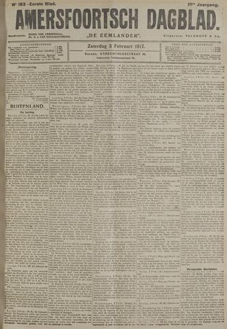 Amersfoortsch Dagblad / De Eemlander 1917-02-03