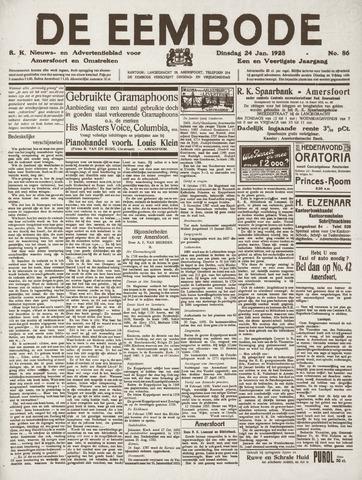 De Eembode 1928-01-24