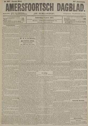 Amersfoortsch Dagblad / De Eemlander 1917-06-09