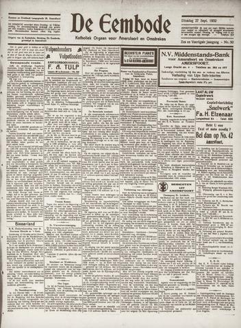 De Eembode 1932-09-27