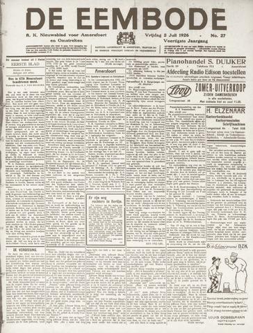 De Eembode 1926-07-02