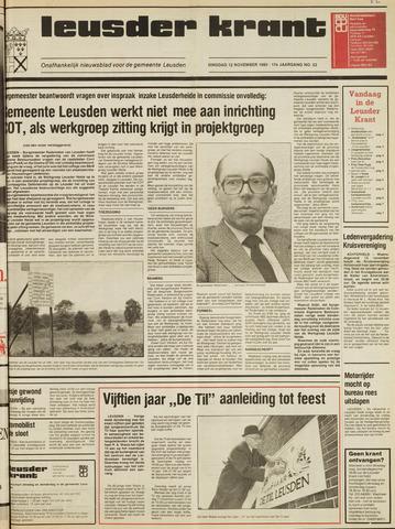 Leusder Krant 1985-11-12