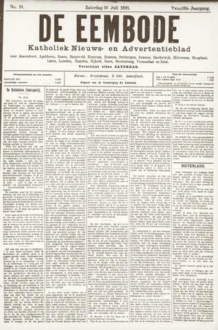 De Eembode 1898-07-30