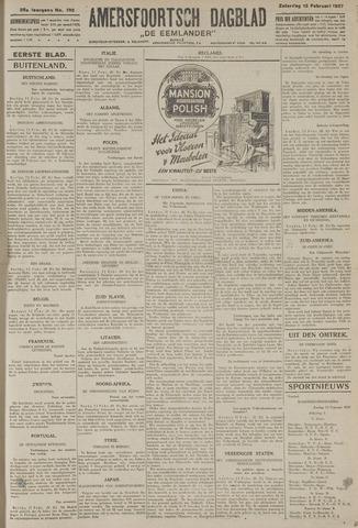 Amersfoortsch Dagblad / De Eemlander 1927-02-12