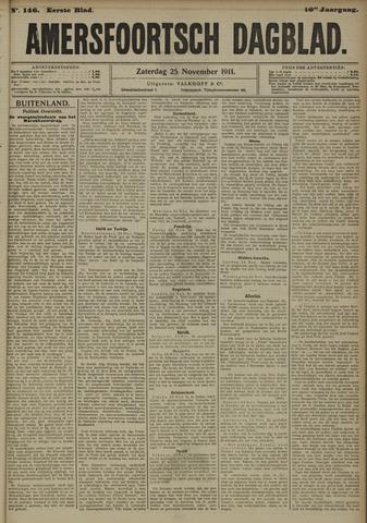 Amersfoortsch Dagblad 1911-11-25