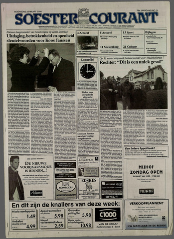 Soester Courant 2000-03-22