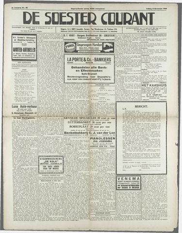 Soester Courant 1929-11-08