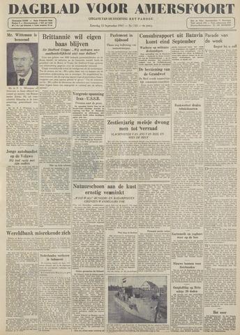 Dagblad voor Amersfoort 1947-09-13