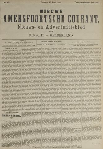 Nieuwe Amersfoortsche Courant 1893-06-17