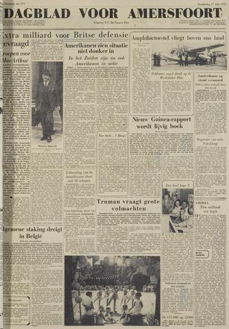 Dagblad voor Amersfoort 1950-07-27