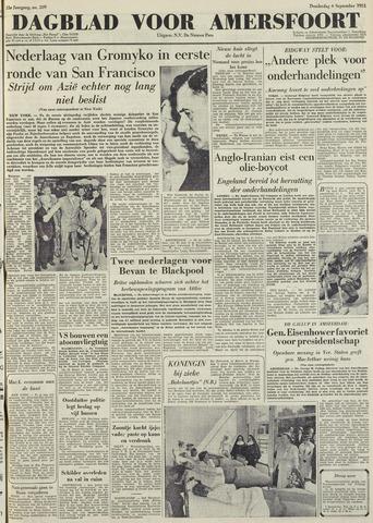 Dagblad voor Amersfoort 1951-09-06