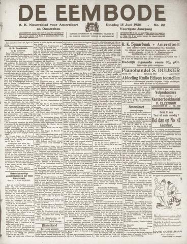 De Eembode 1926-06-15