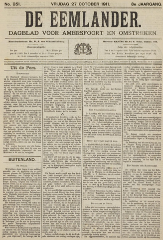 De Eemlander 1911-10-27