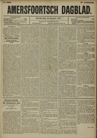 Amersfoortsch Dagblad 1907-01-24