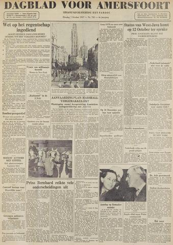 Dagblad voor Amersfoort 1947-10-07