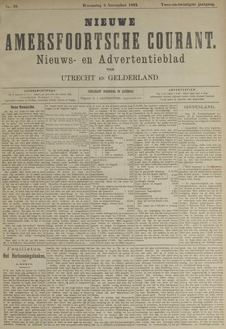 Nieuwe Amersfoortsche Courant 1893-11-08