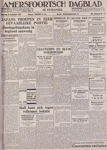 Amersfoortsch Dagblad / De Eemlander 1937-09-20