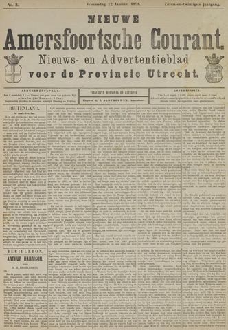 Nieuwe Amersfoortsche Courant 1898-01-12