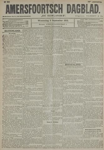 Amersfoortsch Dagblad / De Eemlander 1915-09-08
