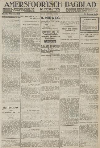 Amersfoortsch Dagblad / De Eemlander 1928-11-14