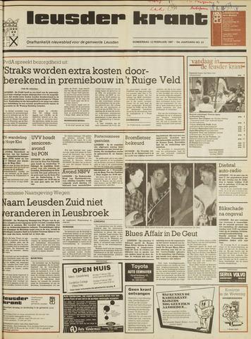 Leusder Krant 1987-02-12