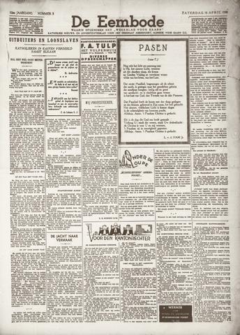 De Eembode 1938-04-16