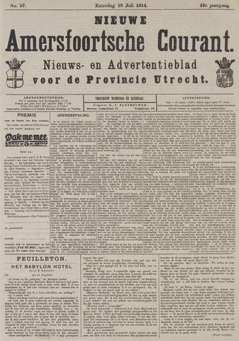 Nieuwe Amersfoortsche Courant 1914-07-18