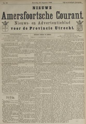 Nieuwe Amersfoortsche Courant 1896-08-22