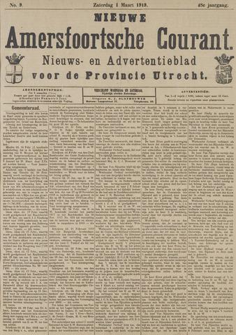 Nieuwe Amersfoortsche Courant 1919-03-01