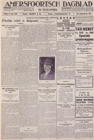 Amersfoortsch Dagblad / De Eemlander 1935-06-21