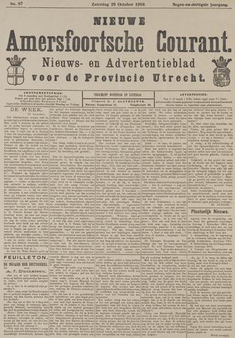 Nieuwe Amersfoortsche Courant 1910-10-29
