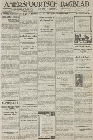 Amersfoortsch Dagblad / De Eemlander 1930-09-11