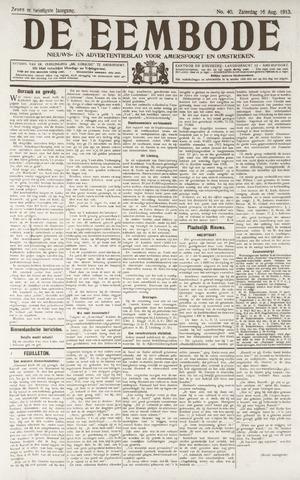 De Eembode 1913-08-16