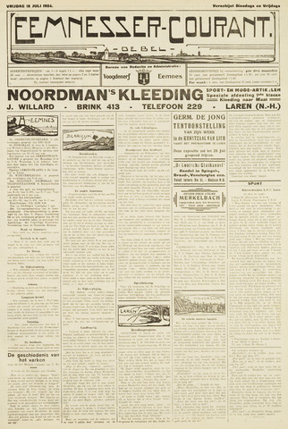 Eemnesser Courant 1924-07-18