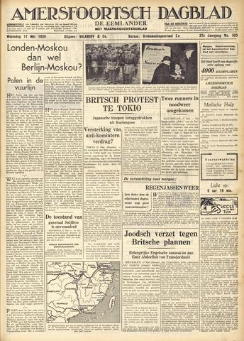 Amersfoortsch Dagblad / De Eemlander 1939-05-17