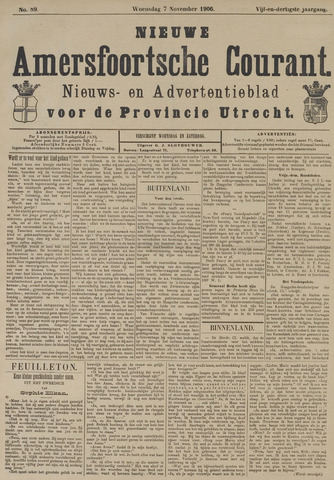 Nieuwe Amersfoortsche Courant 1906-11-07
