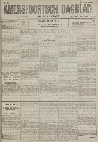 Amersfoortsch Dagblad / De Eemlander 1913-07-14