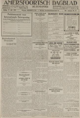 Amersfoortsch Dagblad / De Eemlander 1931-07-17